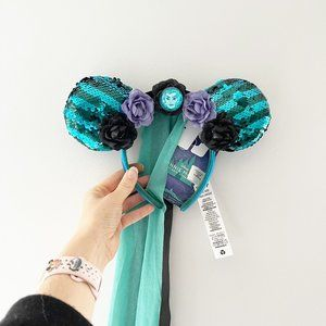 ✨ NWT Minnie Mouse Main Attraction Haunted Mansion Ears   Disney